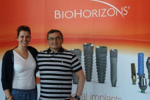Dr. Póti Sándor and Edit Bugár going to BioHorizons event